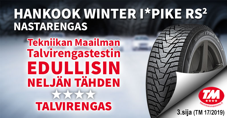 Hankook Winter i*Pike RS2 nastarengas
